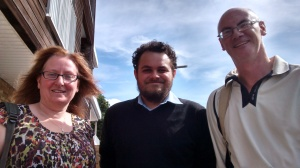 Cheryl, Matt and Kevin, this morning, Prittlewell ward
