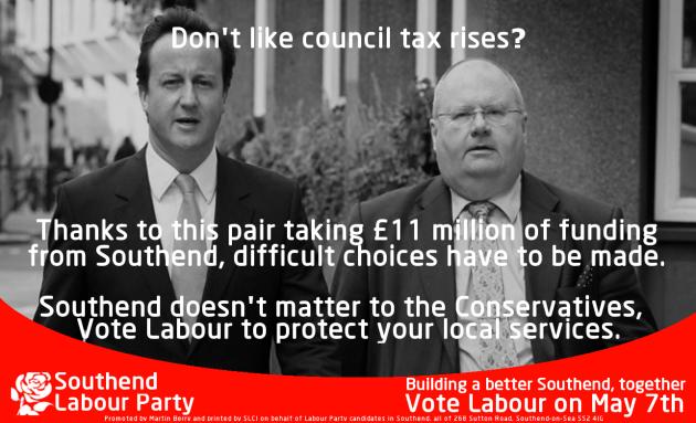 southend labour council tax infographic [IMPRINT]